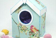 Birdhouse Favour Boxes