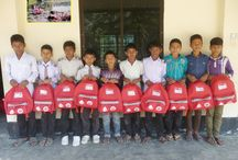 Bangladesh / School in a Bags distributed to children in Bangladesh