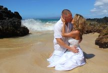Trash the Dress / Trash the Dress photo ideas for Maui beach weddings and vow renewals!