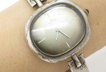 Tick tock. / Vintage silver watches