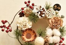 New year wreathe