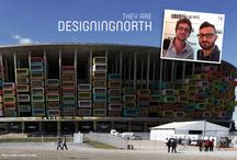 """The Designing North Project / Many people in this world """"add extra"""" to whatever they do: their career, how they live, the relationships they nurture -- we consider that *designing north*. Here's a look at some of the people we think are designing north!"""