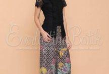 kulot batik pjg