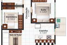 planta baixa do projeto arquitetônico