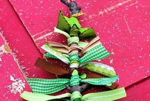 Christmas Tree Ornaments / by Traci Houtz