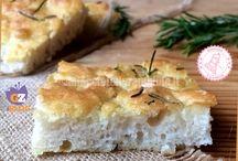 Pane, focacce, pizze e torte salate