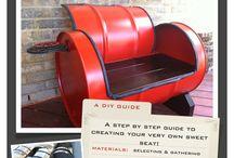 recycle drum ideas