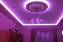 RGB LED szalagos hangulatfények