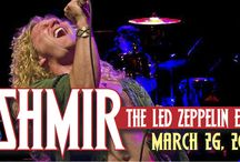 Kashmir, the Ultimate Led Zeppelin Experience, at The Newton Theatre 3/26/2016 / Experience the sound and energy of a classic Led Zeppelin stage show, featuring the greatest masterpieces of rock history, in a rock n' roll event unparalleled since Robert Plant and Jimmy Page shared the stage in their iconic band!