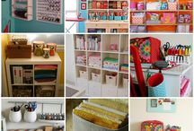 Craft Rooms and Organization