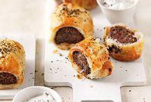 Mint, Lamb & Chilli Sausage Roll.