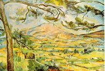 Paintings - Cézanne