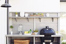 Summer BBQ kitchen / Great ideas how to make a outdoor kitchen