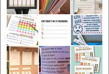 Printables / An assortment of printables