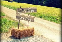 Clare's Rustic Wedding Ideas