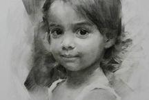 Рисунок.Портрет