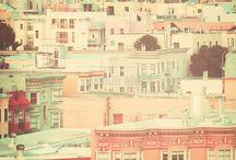 Urban Art / Art inspired by city life and metropolitan charm