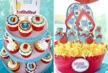 Splash pad party / by Clara Ward