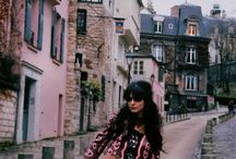 the Cherry Blossom Girl / I love Alix for her style and beautiful photo. She's amazing!