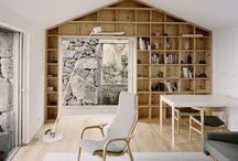Storage / Ideas for shelves and places to put things. / by Leslie Banker