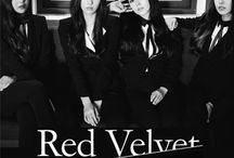 """Red Velvet / Red Velvet (Hangul: 레드벨벳) is a South Korean girl group formed by S.M. Entertainment in 2014. They made their debut with the digital single """"Happiness"""", which was released August 4, 2014. Originally debuting with four members, the group is currently composed of five members: Irene, Seulgi, Wendy, Joy, and Yeri."""
