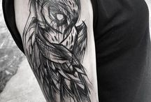 drawings and tattoos