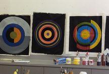 Acrylic Revolution lll focus on colour Centre des Arts Visuels / Art class 8 weeks