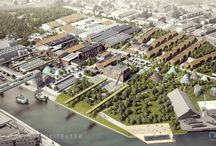 Ressource City by Lendager Arkitekter / The architectural visualizations for Ressource City by Lendager Arkitekter. Images were created in 2015.