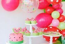 Melon party theme