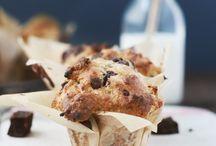 muffins, breakfast and desserts