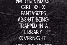 Magical walk through books