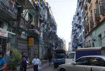 Yangon, Myanmar / Buildings and places Yangon, Myanmar