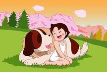 """dibujos animados """"mi infancia"""""""