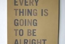 Get through life / Inspiring stuff