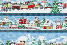Holiday Express Fabric Collection