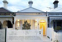 Cottage exterior colours