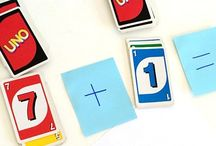 Children games with cards