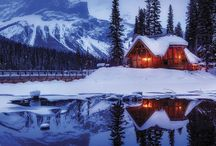Cozy Cabins / The coziest of all Pinterest boards. Exteriors, interiors, design, and decor of the best in cabin life.