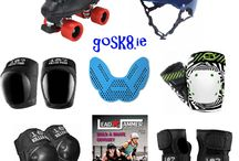GoSk8 Special Derby Bundle Packs UK / Save money with this incredible roller derby package delivered to anywhere in the uk! knee pads elbow pads wristguards roller skates