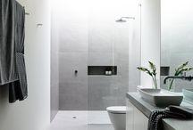 Grey bathrooms