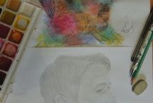 My ART AIDAN GILLEN (PETYR BAELISH AND OTHER ROLES) / DRAWING