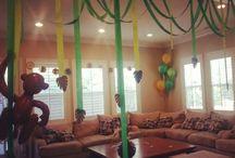 Ella's safari themed 1st birthday