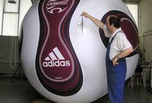 Oversized Adidas football