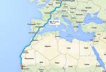 Africa Hayabusa Challenge 2016 / Our new adventure to Senegal and Gambia on Suzuki Hayabusa.