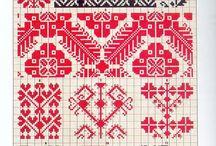 Şemalar&Embroidery schemes