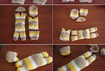 muñecos de calcetin