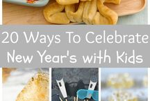 New Years w/ kiddos / Ideas on how to celebrate the new year with kids