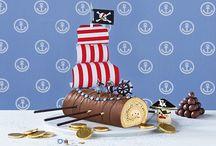 motivtorten kindergeburtstag / Kuchen als Boot