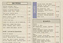 menu layout ideas