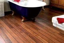 BATHROOM inspiration / #QUICK-STEP IN YOUR #BATHROOM